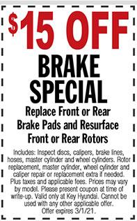 $15 Off Brake Special